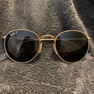 Polarized Round Ray Ban Sunglasses
